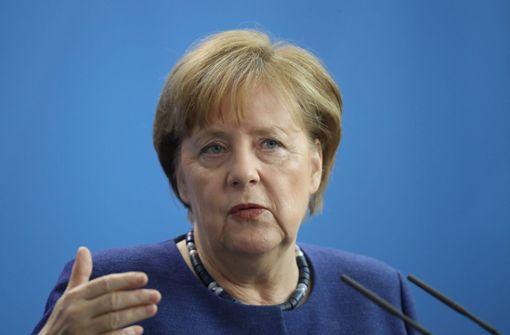 Merkel: Mit Härte gegen Antisemitismus vorgehen