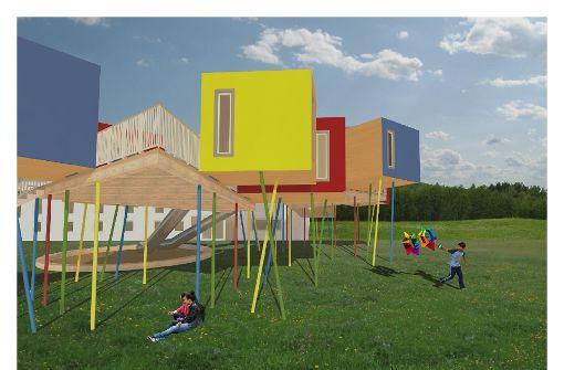 Baumhäuser für den Hohenstaufen