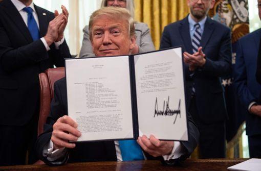 Trump macht nächsten Schritt zum Aufbau einer Weltraumarmee