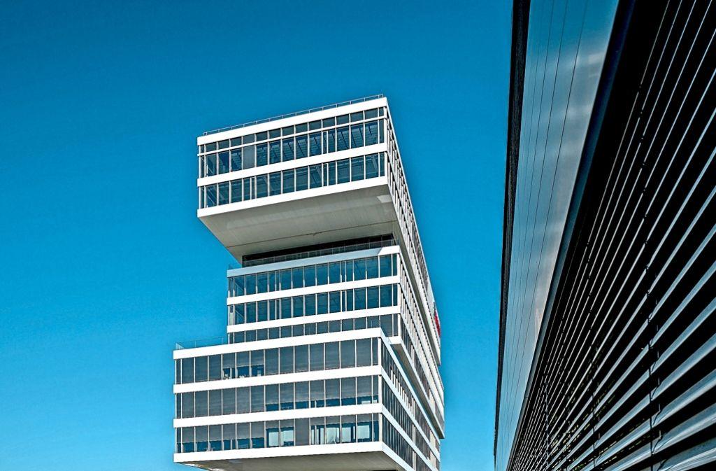 Ganz gerade muss es auf dem Innovationscampus in Renningen nicht zugehen. Foto: factum/Weise