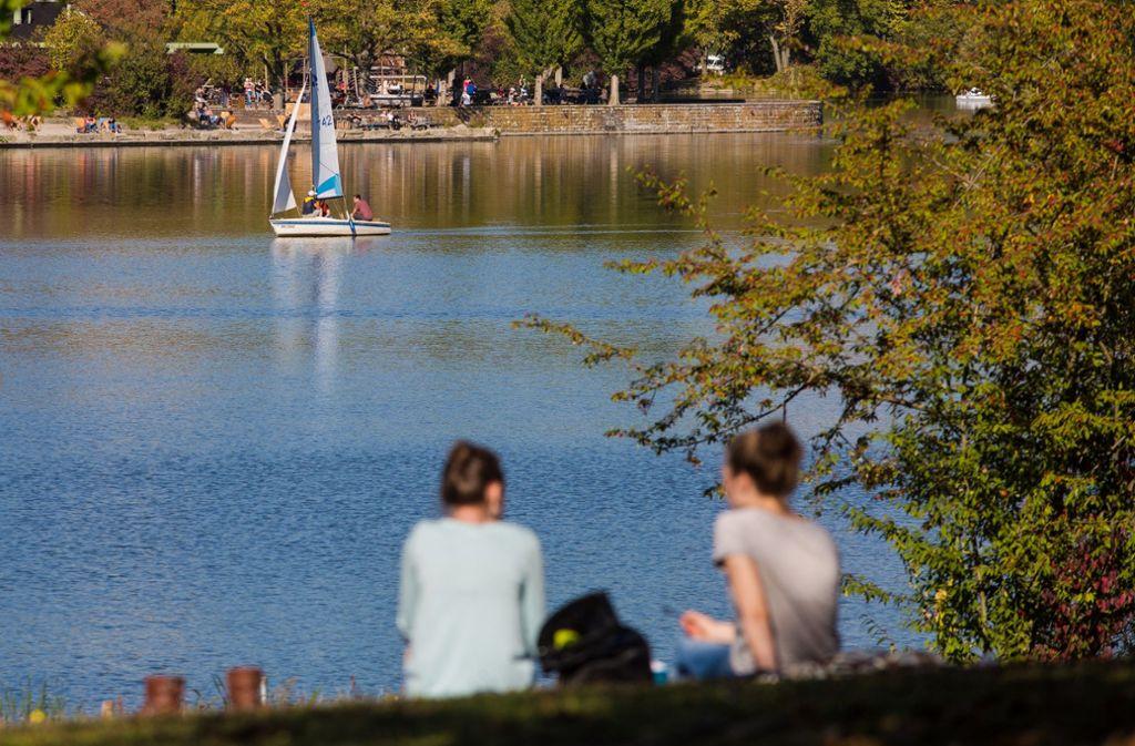 Der Max-Eyth-See in Stuttgart ist ein beliebtes Ausflugsziel (Archivbild). Foto: dpa