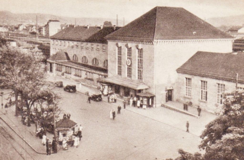 Der Cannstatter Bahnhof wird in diesem Jahr 100 Jahre alt. Zur selben Zeit wurde auch die Rosensteinbrücke errichtet. Foto: Sammlung Olaf Schulze