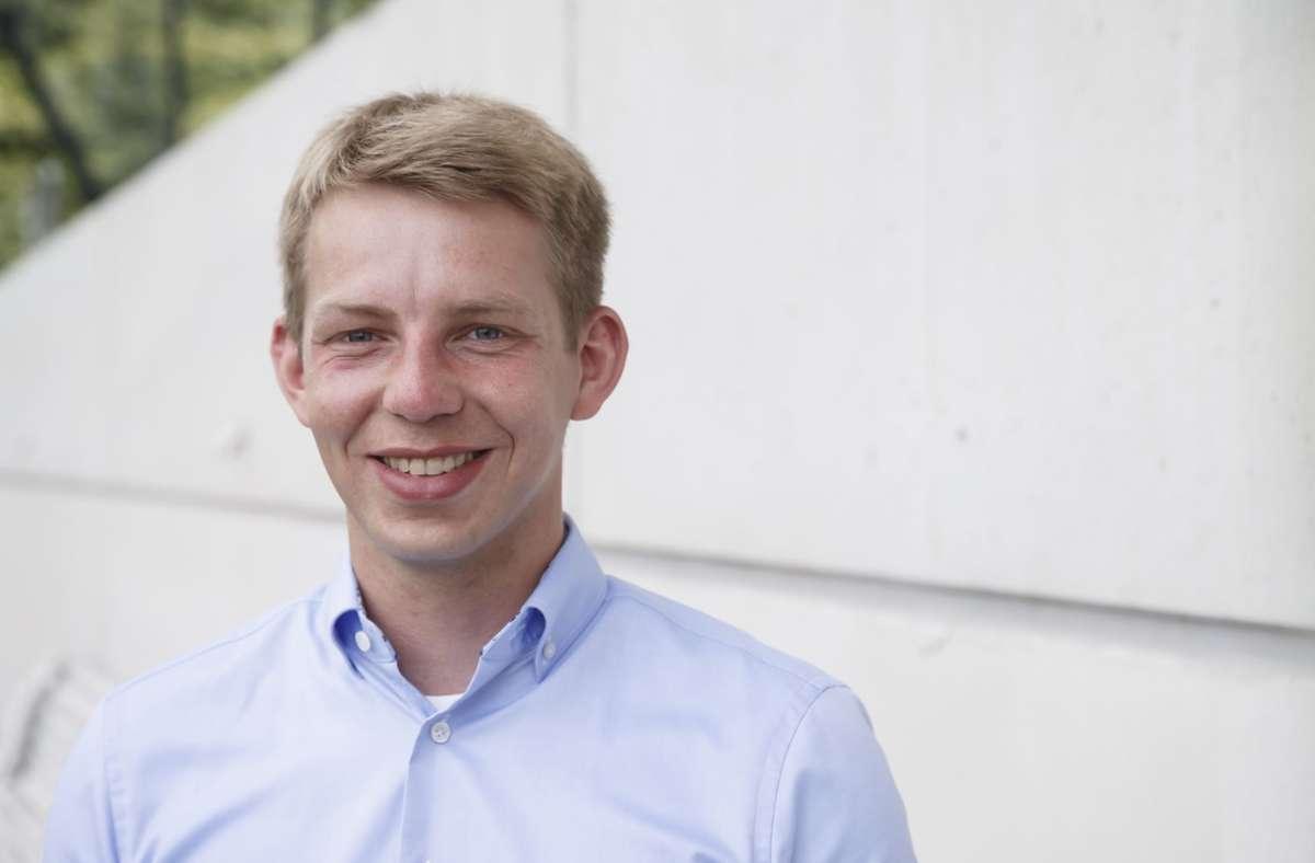 Friedrich Haag hat im Stuttgarter Filderwahlkreis für die FDP den dritten Platz belegt. Mit 12,9 Prozent ergatterte er eines der acht Zweitmandate für die Liberalen  im Regierungsbezirk.  Friedrich Haag Foto: Lichtgut/Julian Rettig