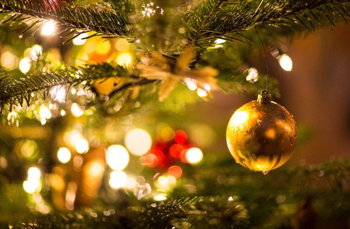 Die Länder haben sich auf einheitliche Kontaktregeln für Weihnachten und Silvester geeinigt. Foto: dpa/Friso Gentsch