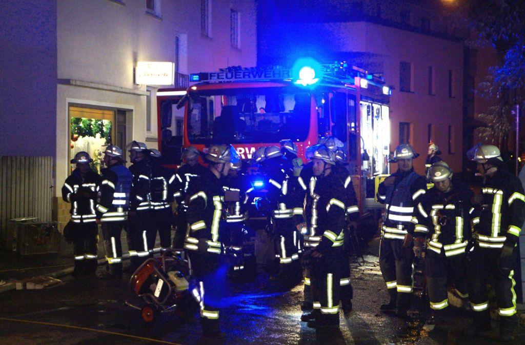 Die Feuerwehr hatte den Brand schnell im Griff. Foto: SDMG