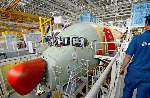Milliardenstrafe trübt  Erfolgsjahr von Airbus