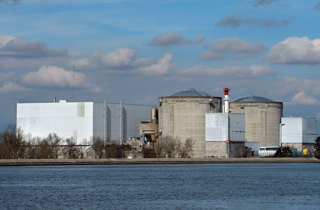 Es wurden auch Dokumente zum Kernkraftwerk in Fessenheim entwendet. Foto: AFP