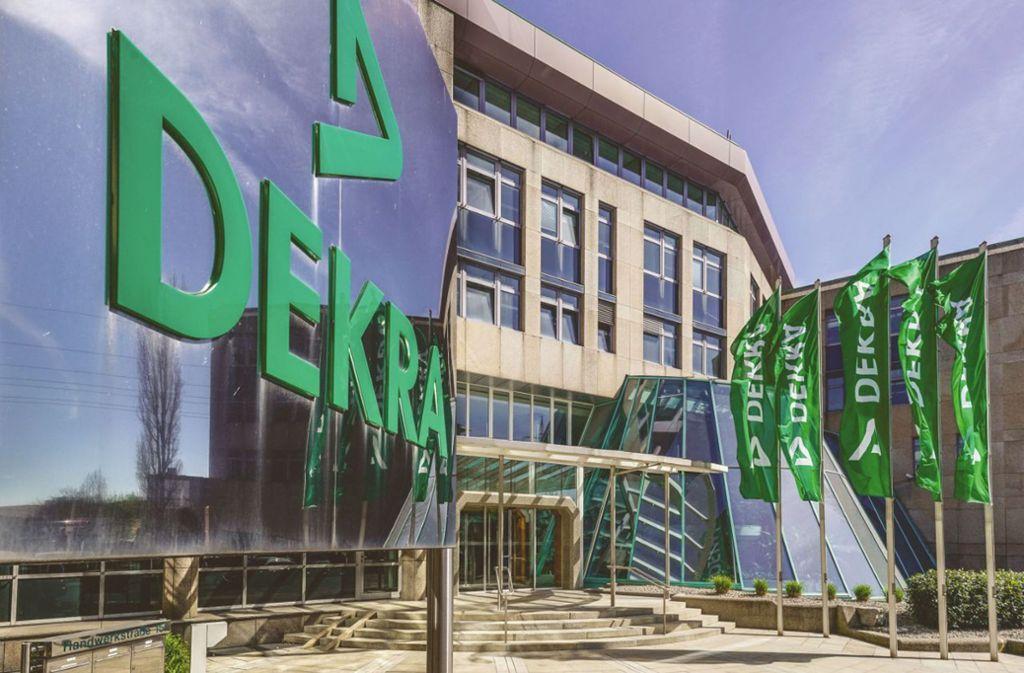 In der Stuttgarter Dekra-Zentrale wird angesichts der Corona-Krise die Lage täglich neu bewertet Foto: Dekra