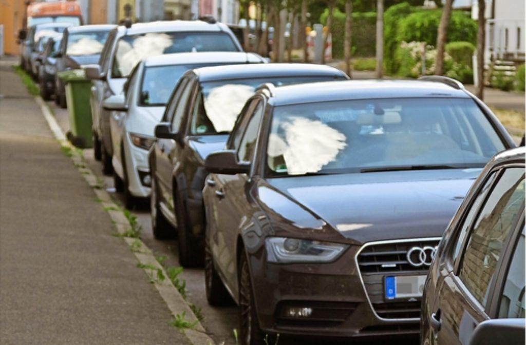 Der Parkdruck in der Weststadt verursacht  viel Verdruss. Foto: factum/Granville