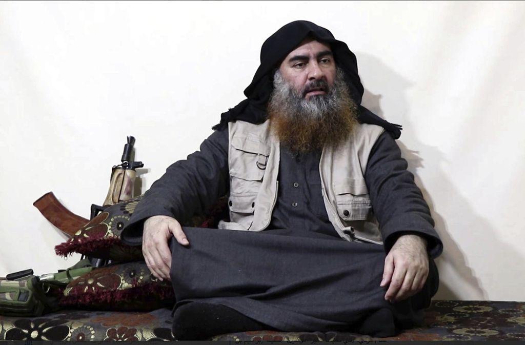 Aus US-Kreisen heißt es, dass der Chef der Terrormiliz Islamischer Staat, Abu Bakr al-Bagdadi, tot sei. Foto: dpa/Uncredited