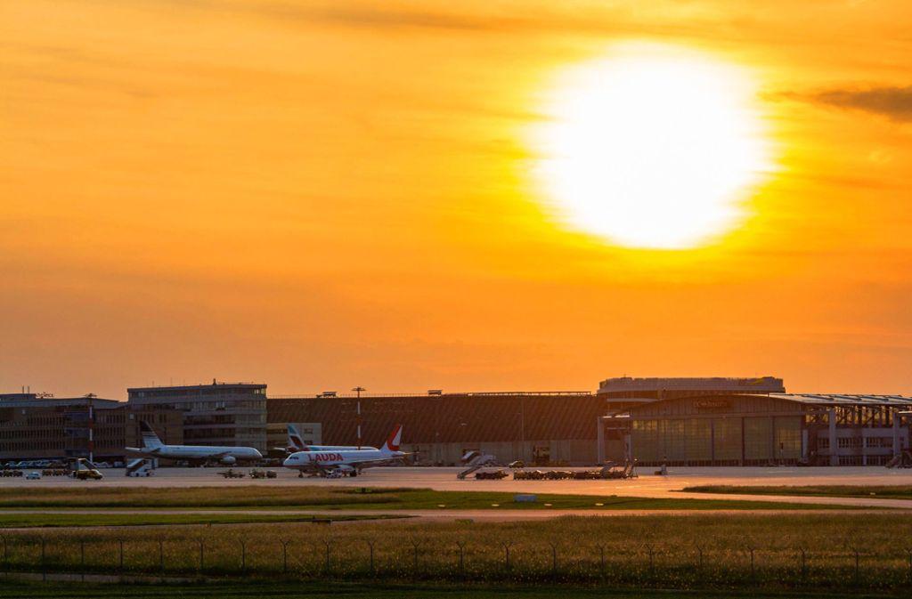 Abflug: Der Flughafen Stuttgart hat Hochbetrieb. Foto: