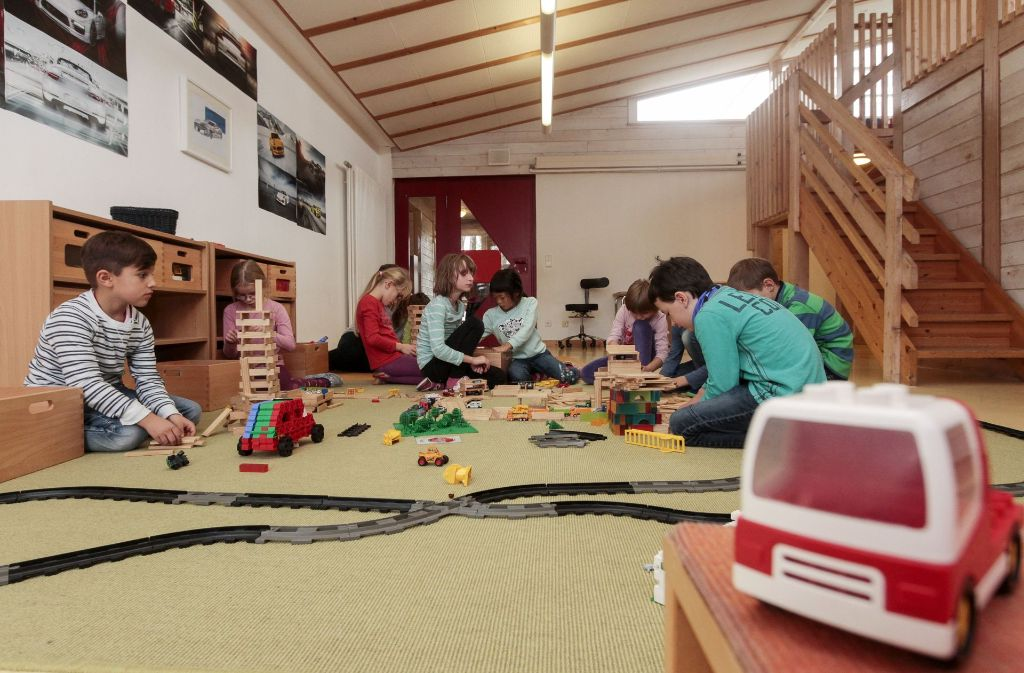 Die Kinder, die jetzt noch das Kindertagheim besuchen, sollen  auch nach einer Umstrukturierung dort bleiben können. Foto: factum/Bach