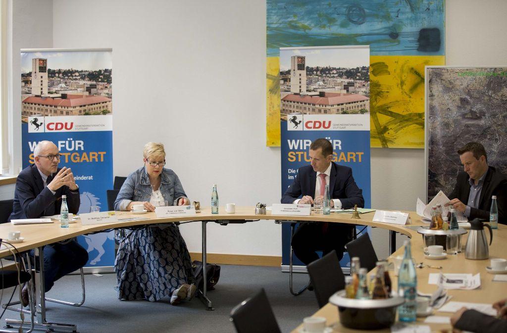 Vier Gemeinderatsfraktionen haben ihre Pläne fürs Rosensetinqaurtier vorgestellt. Foto: Lichtgut/Leif Piechowski
