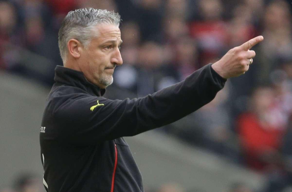 Zeigt neuerdings bei Eintracht Frankfurt die Richtung in der U19 an: Trainer Jürgen Kramny. Foto: Baumann