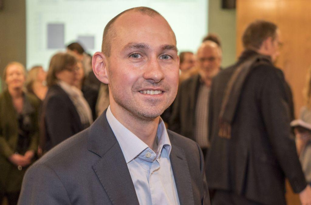 Stefan Belz ist zum neuen Oberbürgermeister Böblingens gewählt worden. Die Bildergalerie zeigt Reaktionen auf das Wahlergebnis. Foto: factum/Weise