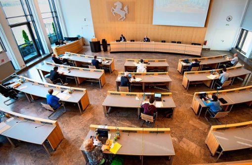 Stuttgarter Gemeinderat tagt nur im kleinen Kreis