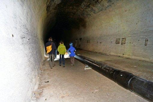 Der Tunnel gibt nicht alle Geheimnisse preis