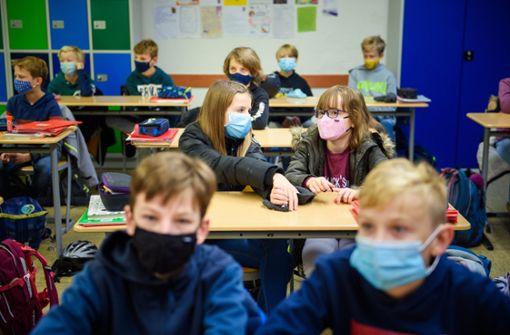 Maskengegner machen dem Schulamt Sorgen