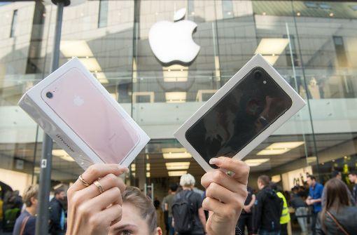iPhone 7 beschert Apple ein Rekordquartal