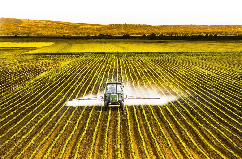Es wird zuviel gespritzt auf den Feldern in Deutschland, sagt der Naturschutzbund Baden-Württemberg. Foto: Adobe Stock