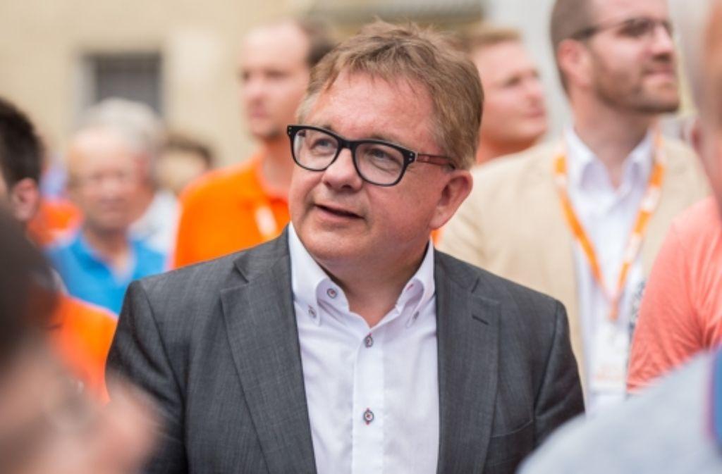 Mit ihm werde es keinen Wahlkampf geben, der die Fremdenfeindlichkeit im Land befördere, verspricht der CDU-Spitzenkandidat Guido Wolf. Foto: Lichtgut/Achim Zweygarth