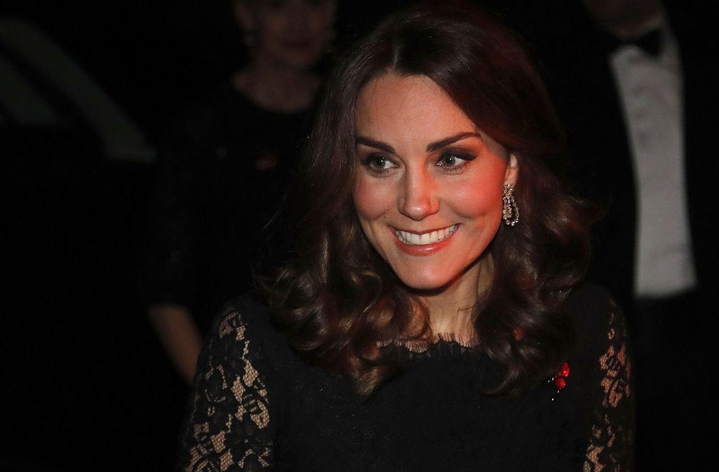 Herzogin Kate zeigt sich wieder in der Öffentlichkeit. Foto: AP
