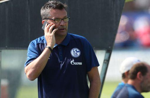 Schalke-Manager sieht Potenzial für die oberen Plätze