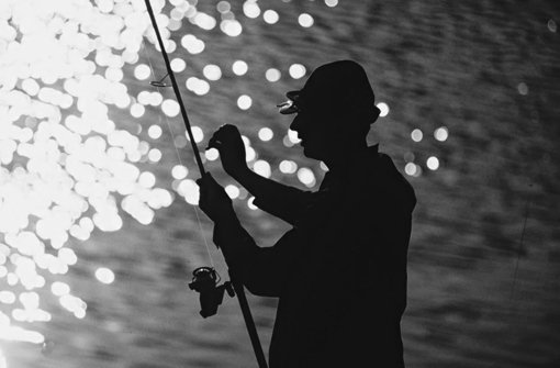 Fische fangen und Unrat sammeln
