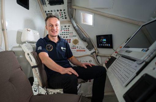 So testet ein Astronaut Fitnessanzüge