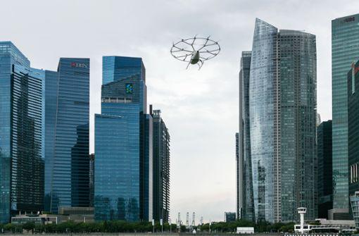 Singapur soll erste Flugtaxistadt werden