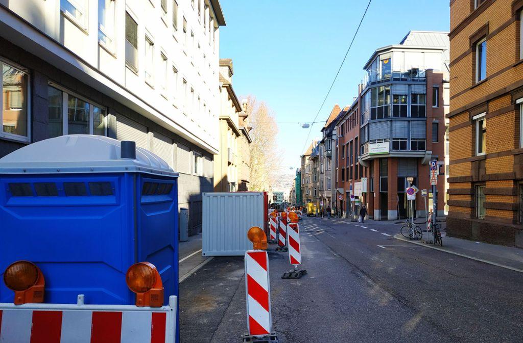 Die Arbeiten wurden über Neujahr lediglich unterbrochen. Foto: Kathrin Wesely