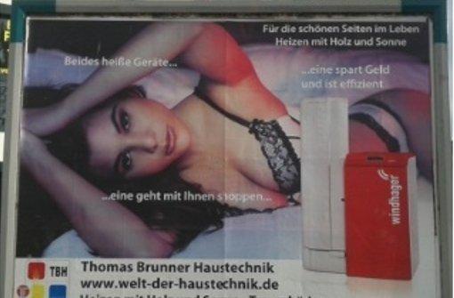 Sexistische und gewaltverherrlichende Reklame