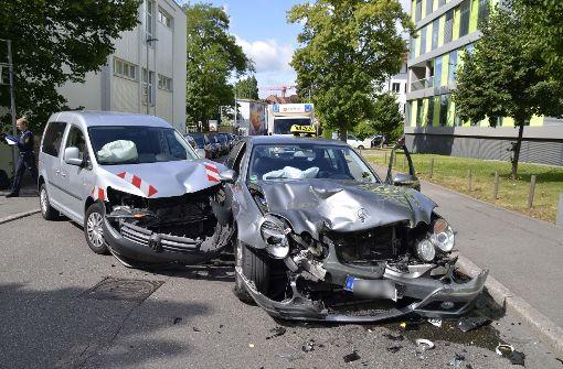 Schwerer Unfall nach Unachtsamkeit