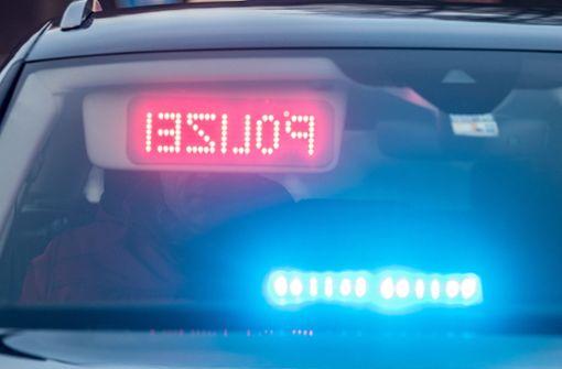 Fahrzeug rast mit 78-Jährigem am Steuer in Grundstück