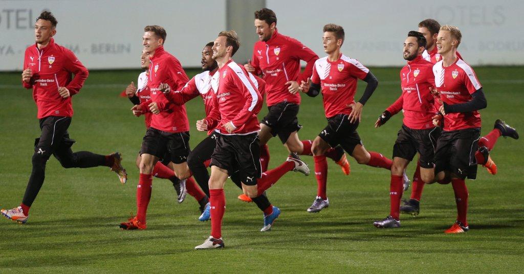 Erstes Training in Belek.  Foto: Baumann