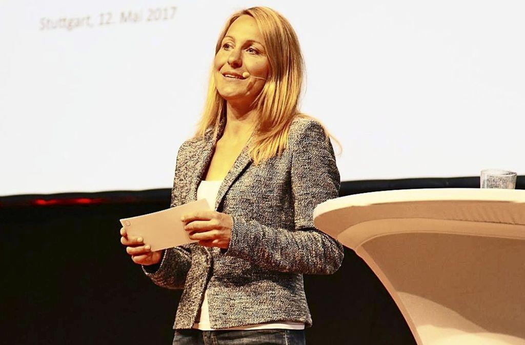Tanja Springer wurde als Vorbild-Unternehmerin ausgezeichnet. Foto: Springer (z)