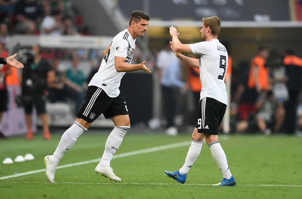 Statt Gomez für Werner könnte es heißen: Gomez und Werner – jede Menge VfB Stuttgart bei der WM 2018. Foto: dpa