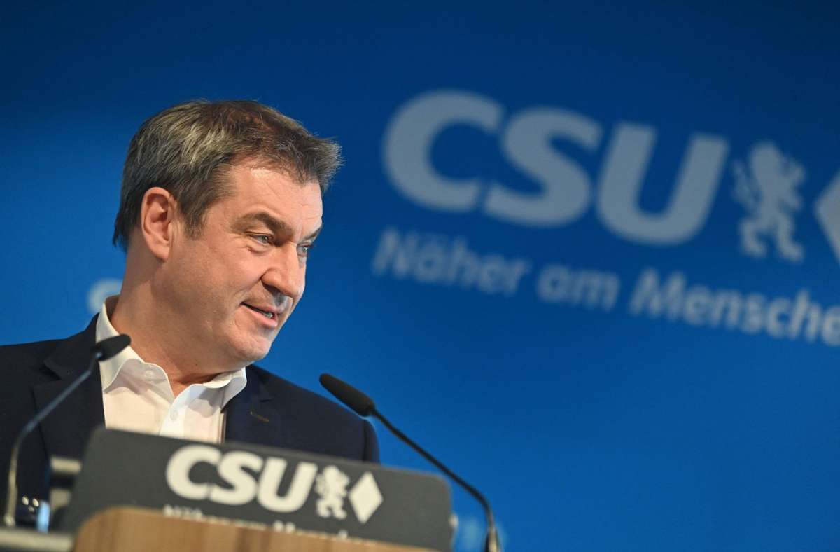 CSU-Vorsitzender Markus Söder. Foto: AFP/PETER KNEFFEL