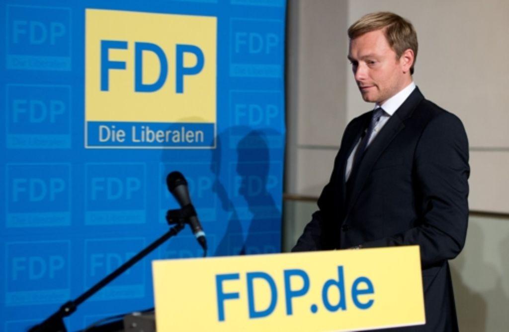 Der kommende Mann: Christian Lindner will die FDP führen Foto: