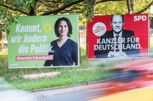 Zwei Kandidaten, ein Wahlkreis – der Kampf um das Direktmandat