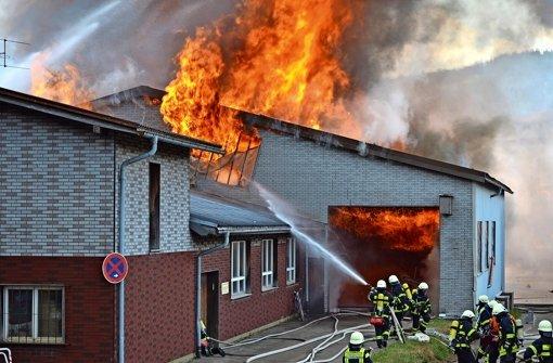 Brand verursacht Millionenschaden