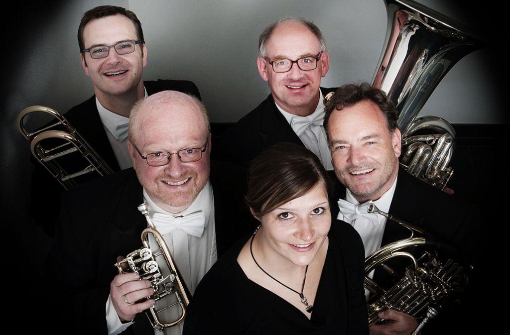 Harmonic Brass spielen in Leutenbach Stücke aus aller Welt. Foto: Veranstalter
