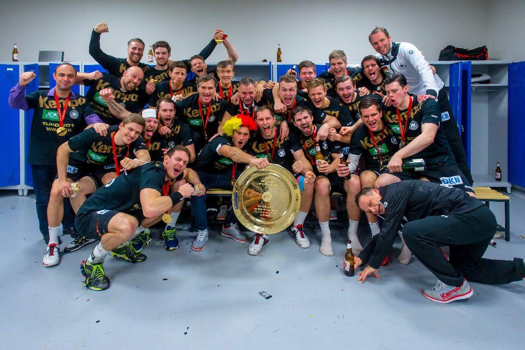 Deutschland feiert den EM-Titel – und seine eigene Handball-Zukunft. Foto: Getty Images
