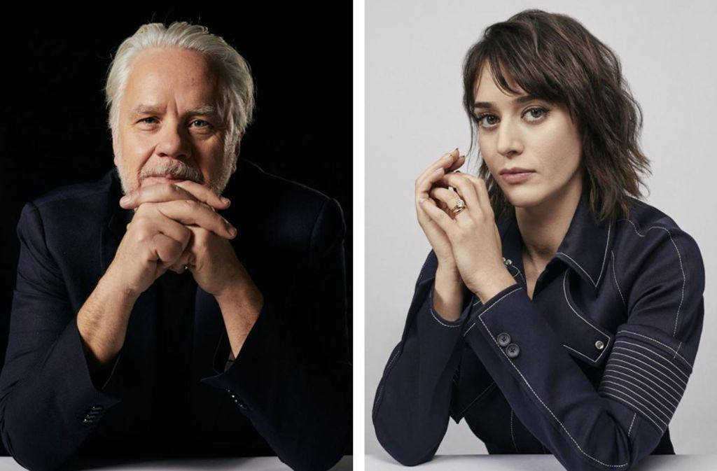 Lizzy Caplan und Tim Robbins beim Fotoshooting in London Foto: Starzplay