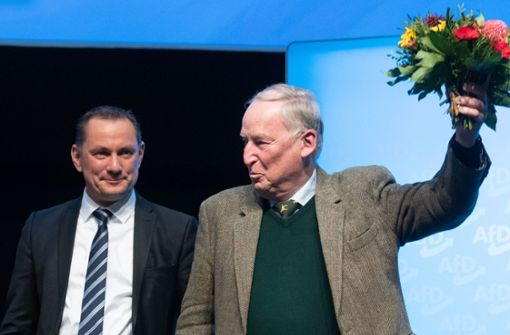 """Gauland zum Ehrenvorsitzenden gewählt: """"Ich bin immer noch dabei"""""""