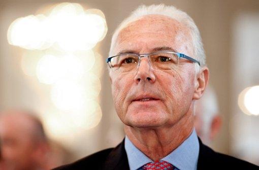 Fifa ermittelt  gegen Beckenbauer