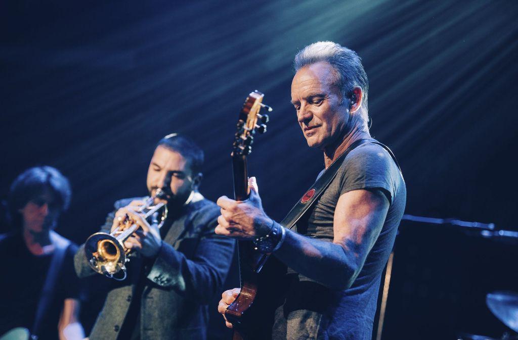 Der britische Musiker im Sting im wieder eröffneten Bataclan. Foto: Universal Music France