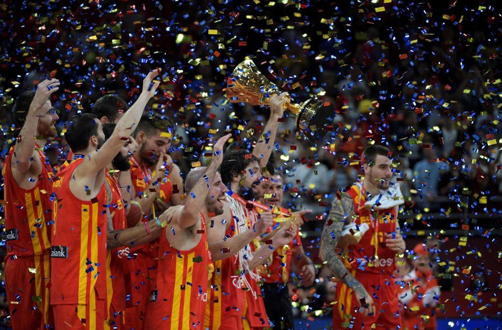 Spanien ist Basketball-Weltmeister 2019. Foto: AFP/NOEL CELIS