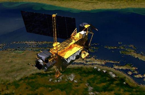 US-Satellit ist im Pazifik versunken