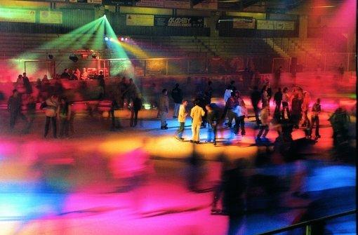 Abtau-Party in der Eiswelt